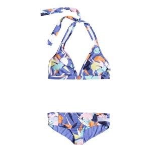 Conjunto de 2 prendas Halter Shorty estampado floral ROXY