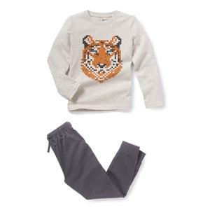 Pyjama mit Tigermotiv, 2-12 Jahre abcd'R