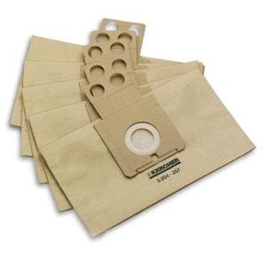 Sac aspirateur KARCHER sachet filtre papier(paquet de 5) RC4000 KARCHER