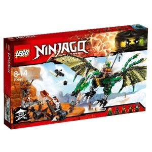 Lego 70593 Ninjago : Le dragon émeraude de Lloyd LEGO