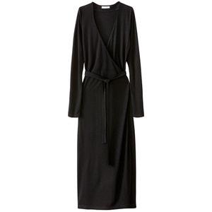 Платье с V-образным вырезом, средней длины La Redoute Collections