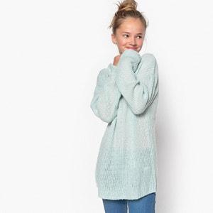 Пуловер из плотного трикотажа с круглым вырезом La Redoute Collections
