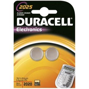 Pile DURACELL Lithium DL 2025 x2 DURACELL