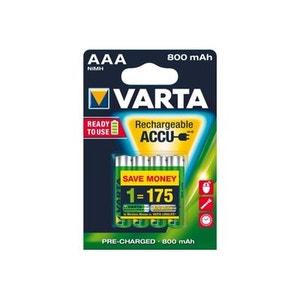 Batterie HR03 aaa 800mAh longlife blister de 4 VARTA