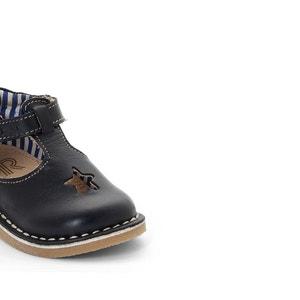 Schoenen met sterperforatie La Redoute Collections