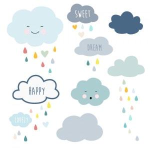 Stickers muraux : Frise nuages DECOLOOPIO