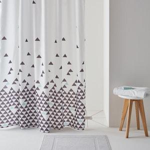 Cortina de ducha, FLY, estampado de triángulos. La Redoute Interieurs
