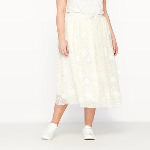 Spódnica tutu z tkaniny plumetis CASTALUNA