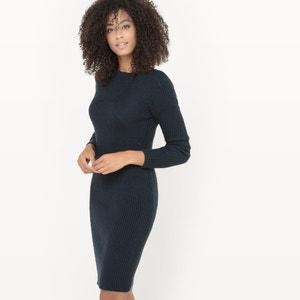 Vestido em tricot La Redoute Collections