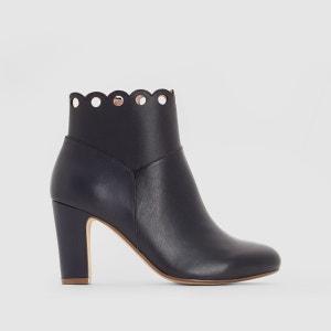 Boots cuir perforées MADEMOISELLE R