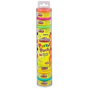Pâte à modeler Play-Doh : Tube couleurs party PLAY DOH
