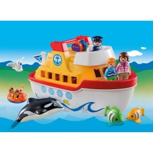 Navire transportable - pla6957 multicolore PLAYMOBIL
