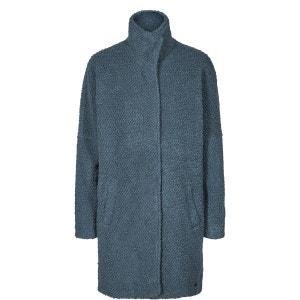 Manteau mi-long col montant 50% laine NUMPH