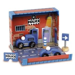 Coffret de police : Camion et voiture de police VILAC