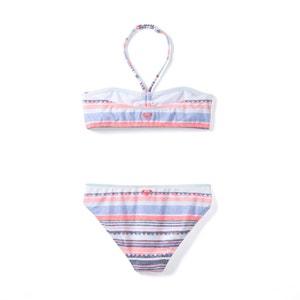 Dwuczęściowy kostium kąpielowy w paski 8 - 10 lat Roxy® ROXY