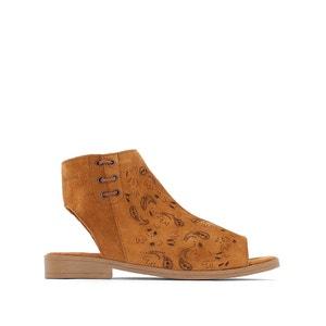 Sandały skórzane ażurowe Topaz COOLWAY