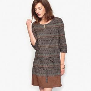 Bedrukte jurk in soepel tricot ANNE WEYBURN