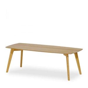 Table basse rectangle nordique 110x50cm Skoll DRAWER