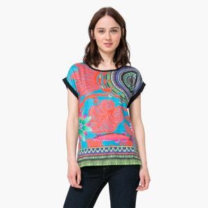 Printed Short-Sleeved T-Shirt DESIGUAL