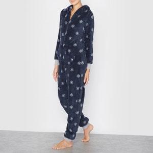 Tuta intera pigiama con cappuccio fantasia fiocchi R édition