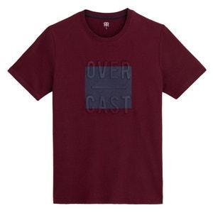 T-shirt met ronde hals, korte mouwen en print