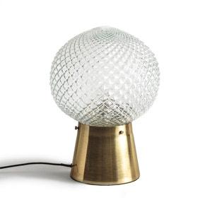 Lámpara de mesa de vidrio y latón MAISON PÈRE X LA REDOUTE