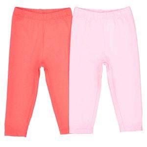 Confezione da 2 leggings da 1 mese a 3 anni, Oeko Tex La Redoute Collections