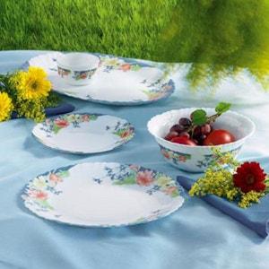Assiette assiette plate creuse anglaise vaisselle la redoute - Service vaisselle luminarc ...