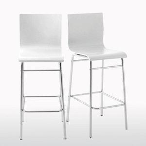 Set of 2 Janik Bar Chairs La Redoute Interieurs