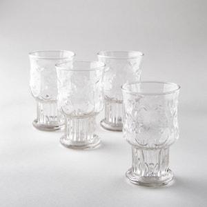 Set of 4 Uzzeni Glasses AM.PM.