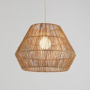 Pantalla de lámpara de techo de cáñamo natural, YAKU La Redoute Interieurs