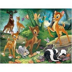 Puzzle 30 pièces : Bambi : Promenade en famille NATHAN