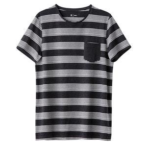 Camiseta a rayas, cuello redondo R édition