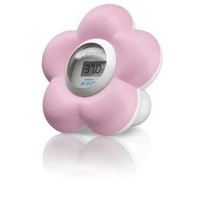 Thermomètre Numérique Philips Avent Bain & Chambre Couleur Rose PHILIPS AVENT