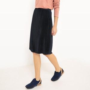Falda plisada con largo por la rodilla VILA