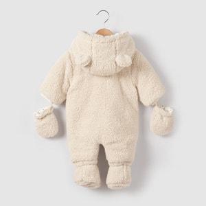 Combi-pilote moutonnée 0 mois-2 ans La Redoute Collections
