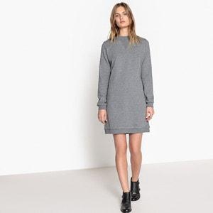 Langärmeliges, kurzes Pulloverkleid, unifarben La Redoute Collections