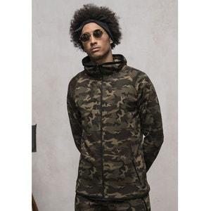 Haut de Survet Camo Urban Classics Tech Dry Fit Wood Camouflage URBAN CLASSICS