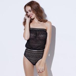 Body modelo caicai em renda de França Sophie Malagola x La Redoute