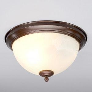 plafonnier pour salle de bain corvin rouille lampenwelt - Plafonnier Salle De Bain Design