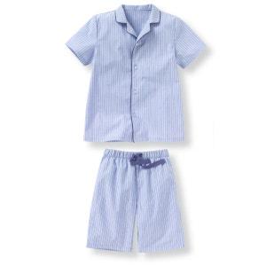 Pyjashort rayé en popeline 2-12 ans La Redoute Collections