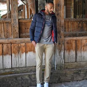 Chino slim broek, tapered stretch SMART 360 FLEX