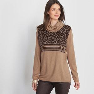 Cowl Neck Jumper/Sweater, 10% Wool ANNE WEYBURN