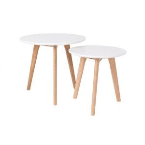 Tables basses scandinave BODINE - set de 2 BOITE A DESIGN