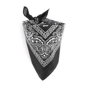 Foulard bandana noir ALLEE DU FOULARD