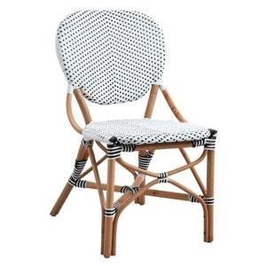 Chaise de terrasse en rotin et résine AUBRY GASPARD