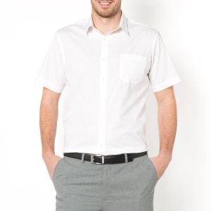 Hemd in popeline met korte mouwen, lengtemaat 3 CASTALUNA FOR MEN