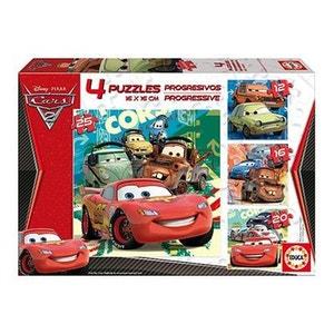 Puzzle progressif - Cars 2 EDUCA
