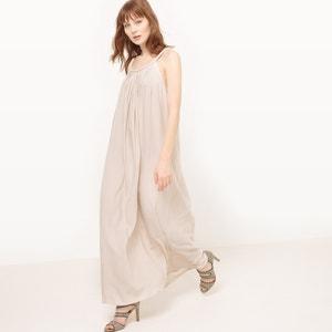 Lange jurk met kant en tule MOLLY BRACKEN