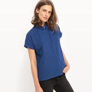 Straight Denim Shirt La Redoute Collections